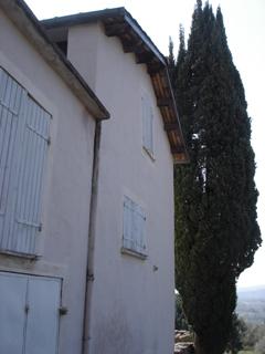 Loplop und die Windsbraut - das Haus (Westansicht)